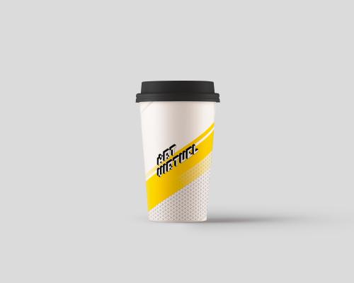 Mock up coffee