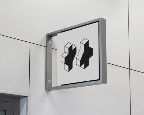 Mockup Pictogramme WC